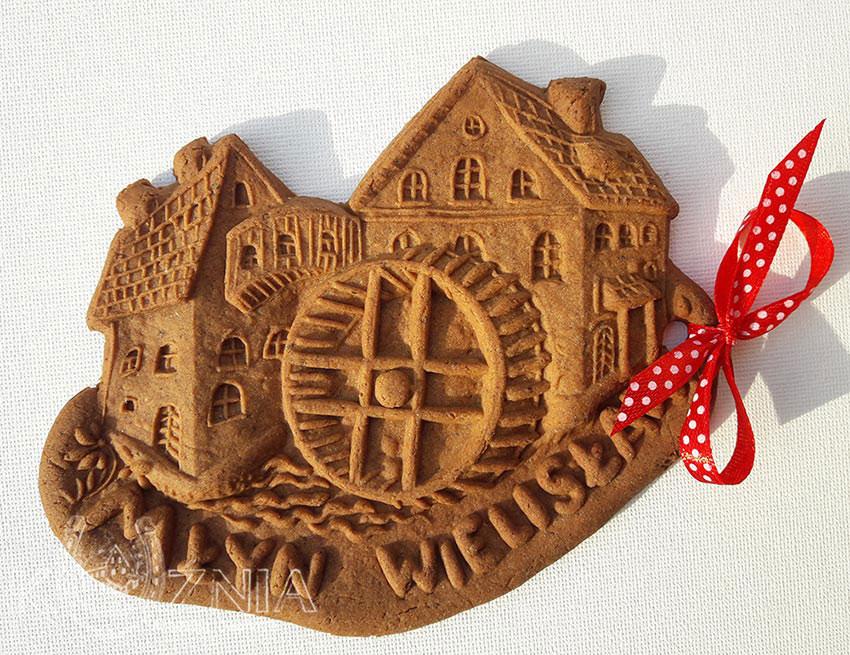 Młyn Wielksławka piernik pamiątkowy wykonany według starej receptury