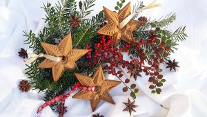 gwiazdki_dekoracyjne_bożonarodzniowy_piernik_figuralny
